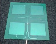 Quad Patch PCB Antenna 2.4 Mhz| Custom PCB Design